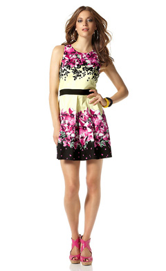 Какие сейчас модные платья летние 5