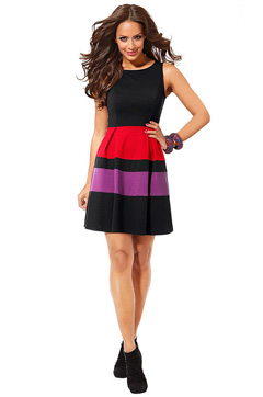 Plaid Women Shirt Dress With Belt Fashion Women Office Wear