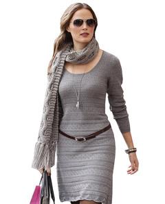 Летние вязаные платья 2015