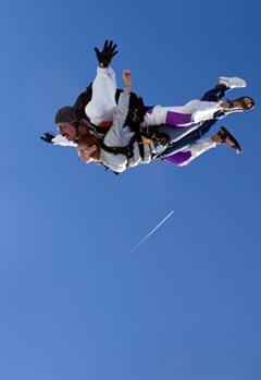 Прыжок с парашютом с инструктором