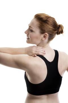 Сильная боль в шее и плече