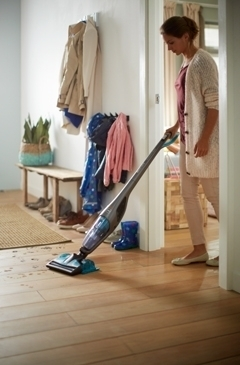 Влажная и сухая уборка