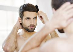 как остановить выпадение волос у мужчины