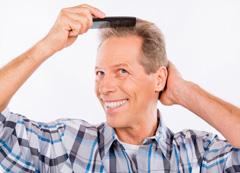 трансплантация волос на голове