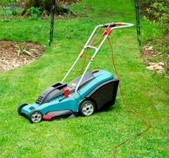 Купить электрическую газонокослилку