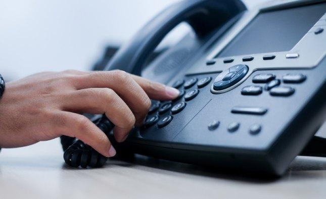 Распределение входящих звонков